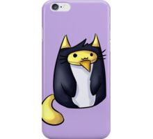 Penguin-cat Luke iPhone Case/Skin