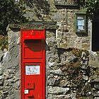 Post Box Castle Bolton N. Yorkshire, UK, 1995. by David A. L. Davies