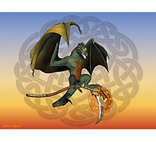 Warrior Dragon Photographic Print