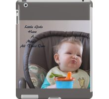 Little Girls  iPad Case/Skin