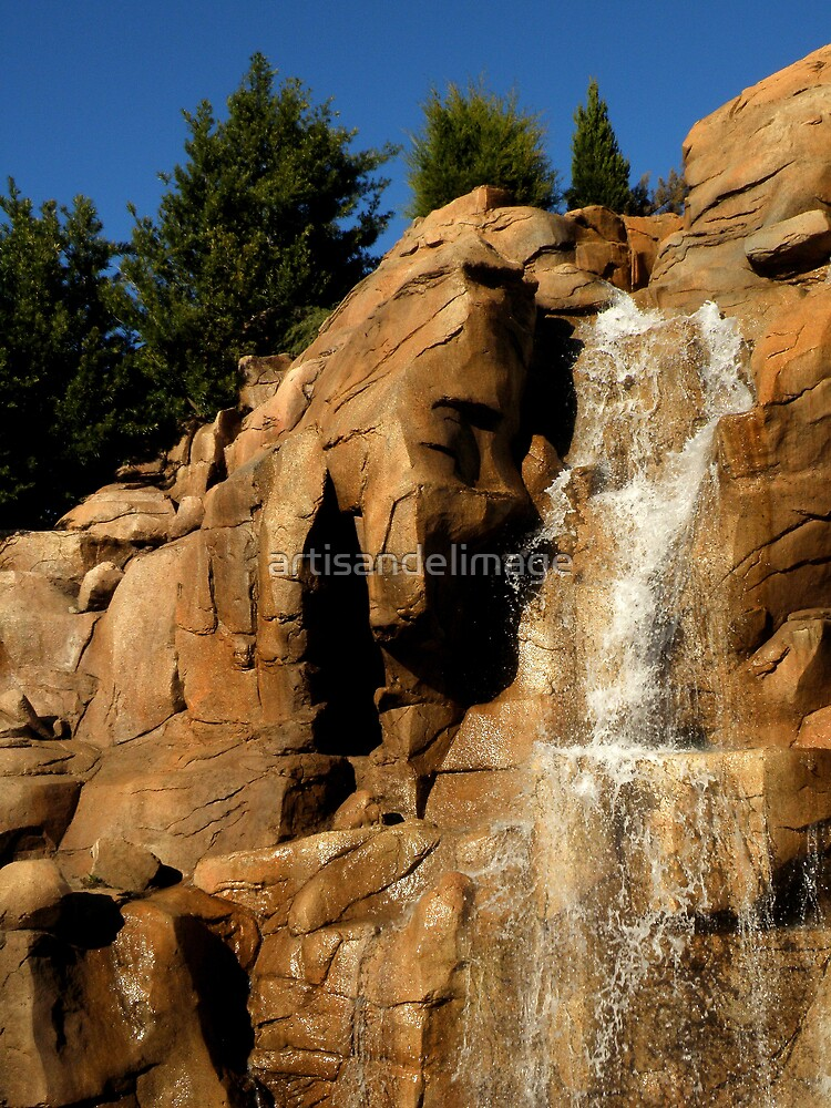 And The Water Falls by artisandelimage