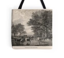 Evening in the Meadows Tote Bag