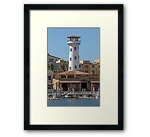 Marina Light Framed Print