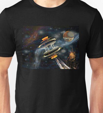 Starship with Bussard Ramjet Propulsion Unisex T-Shirt