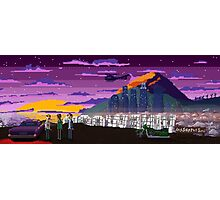 GTA V Pixeled - Los Santos Photographic Print