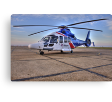 Bristow Norwich - EC155 B1 Helicopter Canvas Print