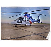 Bristow Norwich - EC155 B1 Helicopter Poster