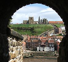 St Hilda's and St Mary's Whitby by FritzFitton