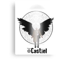 Team Supernatural: Castiel Canvas Print