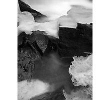 Ice Bridge Photographic Print