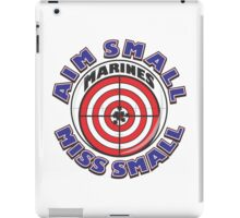 AIM SMALL MISS SMALL - MARINES iPad Case/Skin