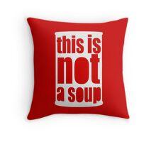 Warhol Magritte Throw Pillow