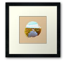 Eroded Composition | Six Framed Print