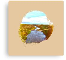 Eroded Composition | Six Canvas Print