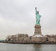 Liberty Island by davidefiume