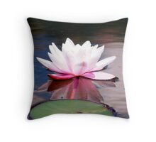 Lily & Pad Throw Pillow