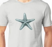 Antique Sea Starfish Illustration Unisex T-Shirt