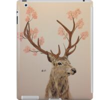 Blossomed Stag iPad Case/Skin