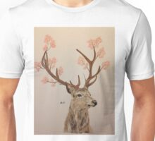 Blossomed Stag Unisex T-Shirt