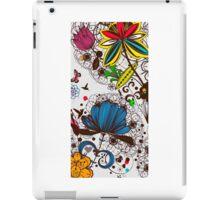 Floral Wildflowers iPad Case/Skin