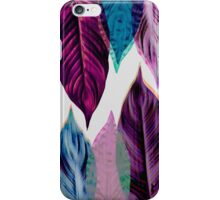 Pink Leaves iPhone Case/Skin