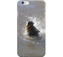 Splosh Splash Taking A Bath iPhone Case/Skin