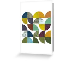 Rustic Rounds 3.0 Greeting Card