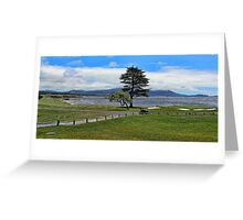 Pebble Beach Painted Greeting Card