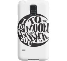 i love you Samsung Galaxy Case/Skin
