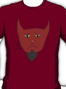 Evil Kitty Head T-Shirt