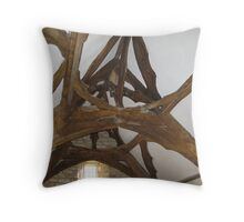 How is that for a roof! Throw Pillow