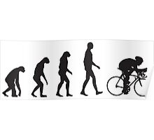 Evolution Cycling Poster