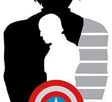 Cap and Bucky by wechangeworld