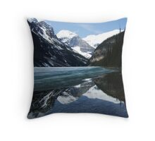 icy reflection Throw Pillow