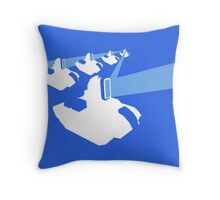 Panels Charged Throw Pillow