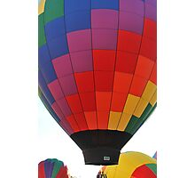 Hot Air Balloon Flame Photographic Print