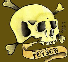 Poison Skull by Thomas Robertson II