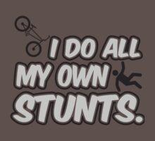 I do all my own stunts by nektarinchen