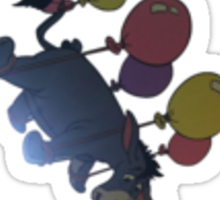Flying Eeyore Sticker