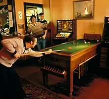 Pub Games; Bar Billiards 1976 by David A. L. Davies