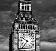 Big Ben London UK Sticker