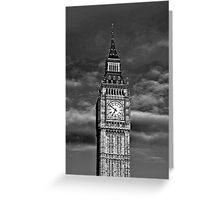 Big Ben London UK Greeting Card