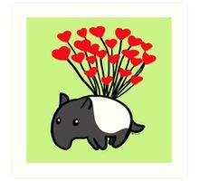 Tapir Love Art Print