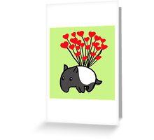 Tapir Love Greeting Card