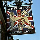 """British Lion"" pub sign. by David A. L. Davies"