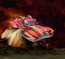 Space Vehicle  by LoneAngel
