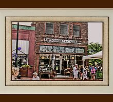 """Burrville Antiques"" ... with a matted and framed presentation for prints and products by © Bob Hall"