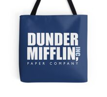 Dunder Mifflin The Office Logo Tote Bag