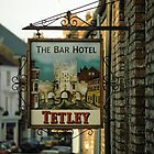 """Bar Hotel"" pub sign. by David A. L. Davies"