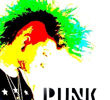 Punk Rock Mohawk by Charlottesw3b